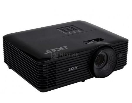 Проектор Acer X138WH, WXGA, HDMI, VGA, 3D Ready, 3700 Лм, Черный MR.JQ911.001