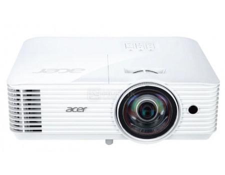Проектор Acer S1286Hn, XGA, 2xHDMI, 2xVGA, 2xUSB, LAN. 3D Ready, 3500 Лм, Белый MR.JQG11.001