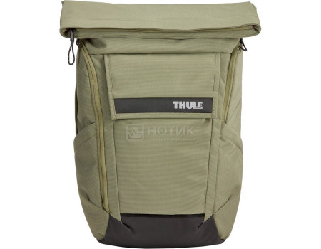 "Рюкзак 15,6"" Thule Paramount Backpack 24L, Нейлон, Olivine, Оливковый 3204214 фото"