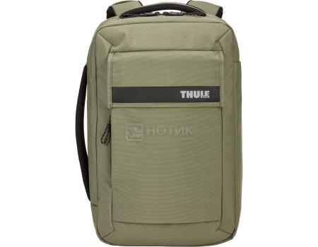 """Рюкзак-сумка 15,6"""" Thule Paramount Convertible Backpack 16L, Нейлон, Olivine, Оливковый 3204220 фото"""