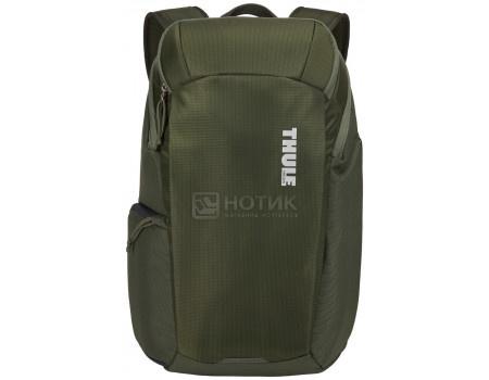 """Рюкзак для фототехники 13"""" Thule EnRoute Camera Backpack 20L, Нейлон, Dark Forest, Темно-зеленый 3203903 фото"""