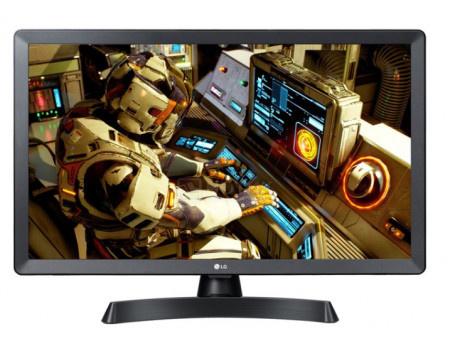 Телевизор LG 24 LED, HD, Smart TV (webOS), Звук (10 Вт (2x5 Вт)) , 2xHDMI, 1xUSB, 1xRJ45, Темно-серый, 24TL510S-PZ