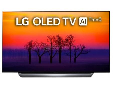Телевизор LG 55 OLED, UHD, Smart TV (webOS), Звук (40 Вт (2x10 Вт) + 20Вт Саб), 4xHDMI, 3xUSB, Серебристый, OLED55C8PLA