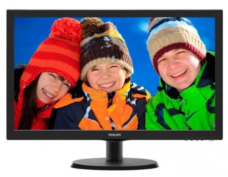 """Монитор 21,5"""" Philips 223V5LHSB, FHD, TN, HDMI, VGA, Черный 223V5LHSB/01 фото"""