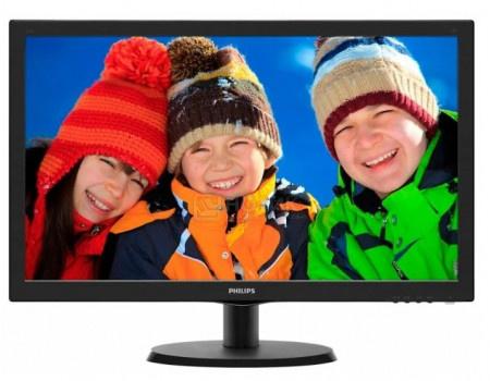 """Монитор 21,5"""" Philips 223V5LSB, FHD, TN, DVI, VGA, Черный 223V5LSB/01 фото"""