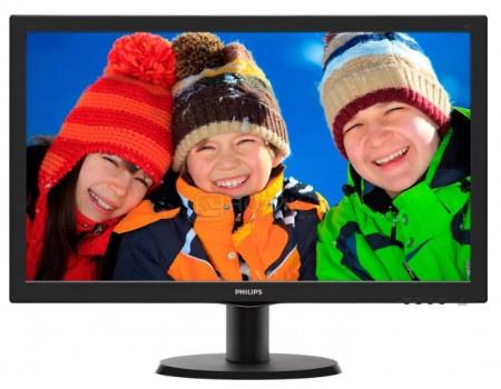 "Монитор 23,6"" Philips 243V5QHSBA, FHD, MVA, HDMI, DVI, VGA, Черный 243V5QHSBA/01 фото"