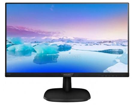 """Монитор 23,8"""" Philips 243V7QDSB, FHD, IPS, HDMI, DVI, VGA, Черный 243V7QDSB/01 фото"""