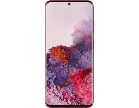 Смартфон Samsung Galaxy S20 128Gb SM-G980F Red (Android 10.0/Exynos 990 2730MHz/6.20