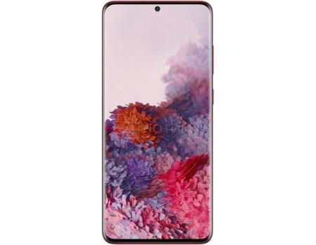 """Смартфон Samsung Galaxy S20+ 128Gb SM-G985F Red (Android 10.0/Exynos 990 2730MHz/6.70"""" 3200x1440/8192Mb/128Gb/4G LTE ) [SM-G985FZRDSER]"""
