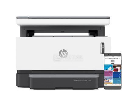 МФУ лазерное монохромное HP Neverstop Laser 1200w, A4, 20 стр/мин, 64Mb, Wi-Fi, USB, Белый/Черный 4RY26A фото