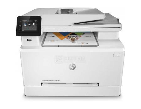 МФУ лазерное цветное HP Color LaserJet Pro M283fdw , A4, ADF, 21/21 стр/мин, факс, дуплекс, 256Мб, USB, LAN, Wi-Fi Белый 7KW75A фото