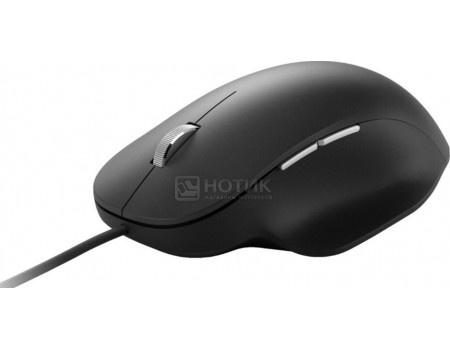 Мышь проводная Microsoft Lion Rock Ergonomic, 1000dpi, USB, Черный RJG-00010 фото