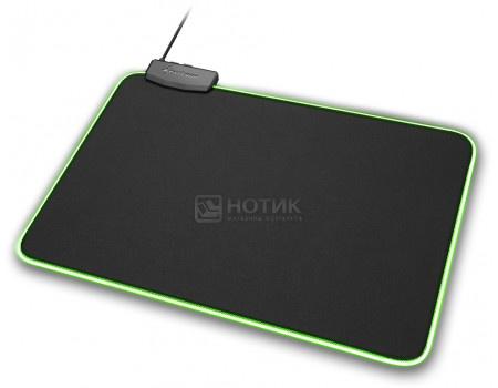 Коврик для мыши Sharkoon 1337 RGB L, 359x279 мм, 1337-RGB-L Черный фото