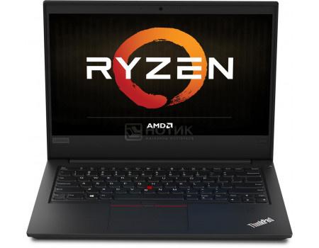 Ноутбук Lenovo ThinkPad E495 (14.00 IPS (LED)/ Ryzen 7 3700U 2300MHz/ 16384Mb/ HDD+SSD 1000Gb/ AMD Radeon RX Vega 10 Graphics 64Mb) MS Windows 10 Professional (64-bit) [20NE000CRT]