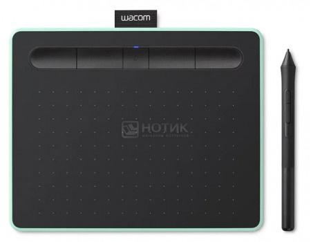 Графический планшет Wacom Intuos S Bluetooth Pistachio, Зеленый CTL-4100WLE-N фото
