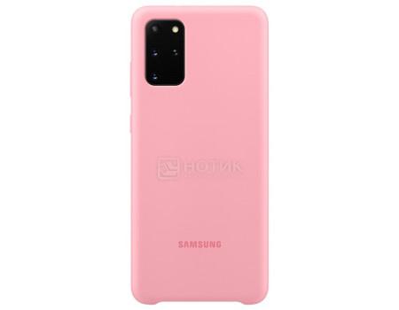 Чехол-накладка Samsung Silicone Cover для смартфона Samsung Galaxy S20+ , Силикон, Pink, Розовый, EF-PG985TPEGRU фото