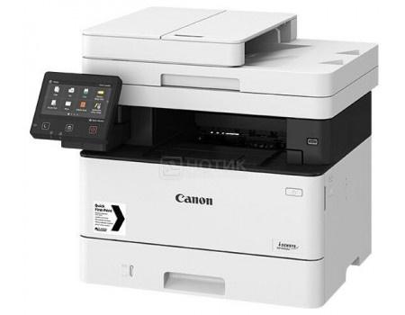 МФУ лазерное монохромное Canon i-Sensys MF445dw A4, ADF, 38 стр/мин, Duplex, Wi-Fi, USB 2.0, факс, Белый\Черный 3514C026 фото