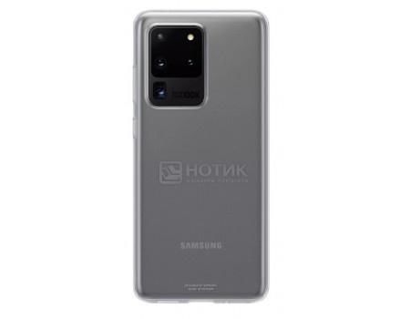 Чехол-накладка Samsung Clear Cover для смартфона Samsung Galaxy S20 Ultra, Термополиуретан, Clear, Прозрачный, EF-QG988TTEGRU фото