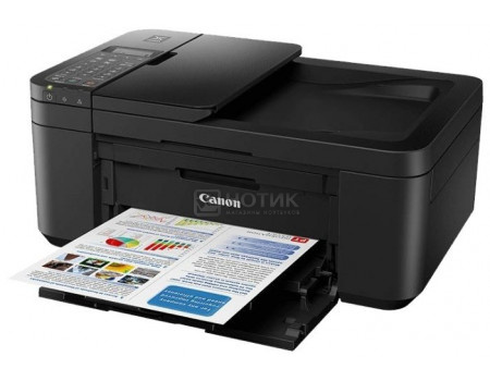 МФУ струйное цветное Canon Pixma TR4540 A4, 8,8/4,4 стр/мин Duplex, Wi-Fi, USB, факс, Черный 2984C007