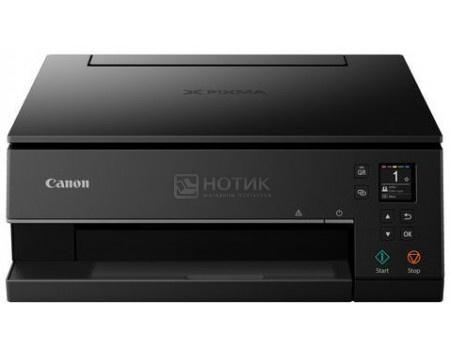 МФУ струйное цветное Canon Pixma TS6340 A4, Duplex, 15/10 стр/мин USB, Wi-Fi, BT, ADF, Черный 3774C007
