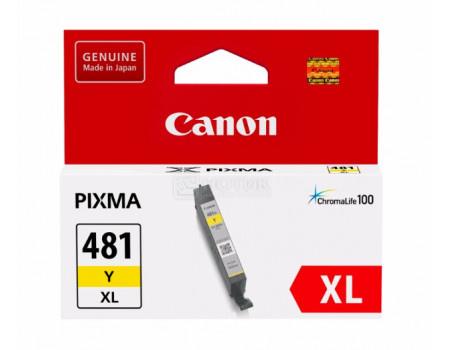 Картридж струйный Canon CLI-481 Y XL желтый для Canon Pixma TS8140TS/ TS9140 2046C001
