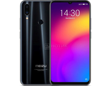 Смартфон Meizu Note 9 128Gb Black (Android 9.0 (Pie)/SDM675 2000MHz/6.00