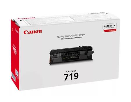 Картридж лазерный Canon 719 черный для Canon 3479B002