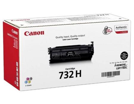Картридж лазерный Canon 732 H BK черный для Canon 6264B002