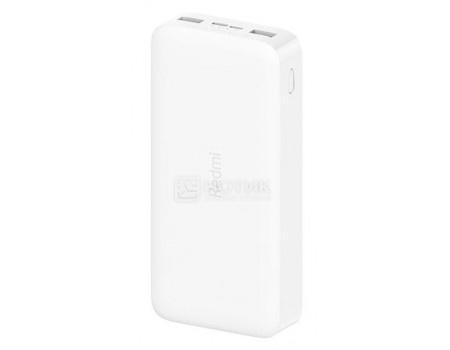 Внешний аккумулятор XIAOMI Redmi Power Bank 10000 мАч, 2xUSB 2.4A, Белый VXN4266CN фото