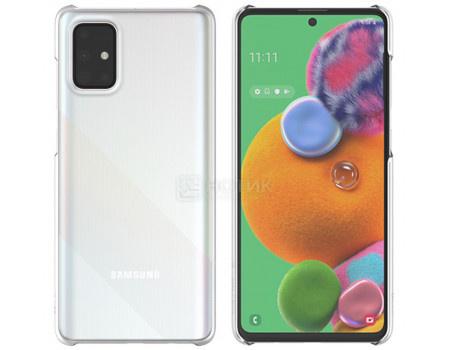 Чехол-накладка WITS Premium Hard Case для смартфона Samsung Galaxy A71, Поликарбонат, Clear, Прозрачный, GP-FPA715WSATR фото