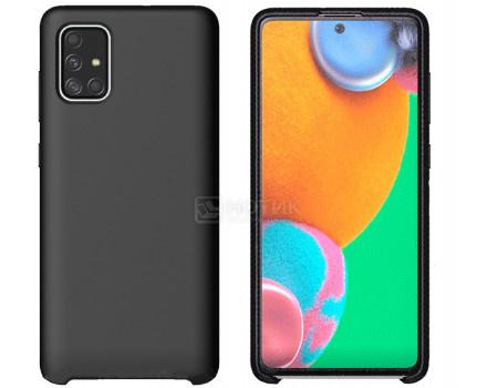 Чехол-накладка Araree Typoskin для смартфона Samsung Galaxy A71, Силикон, Black, Черный, GP-FPA715KDBBR фото