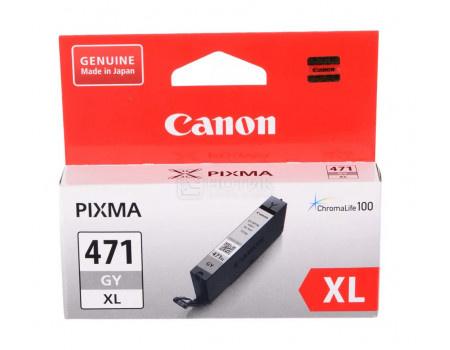Картридж струйный Canon CLI-471 GY XL серый для Canon 0350C001