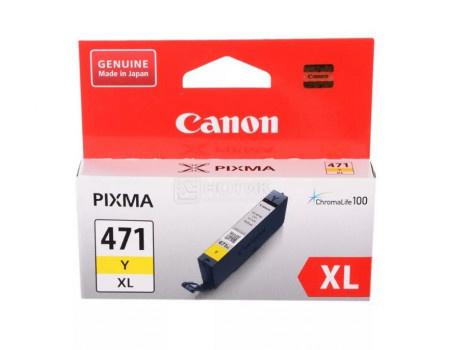 Картридж струйный Canon CLI-471 Y XL желтый для Canon 0349C001