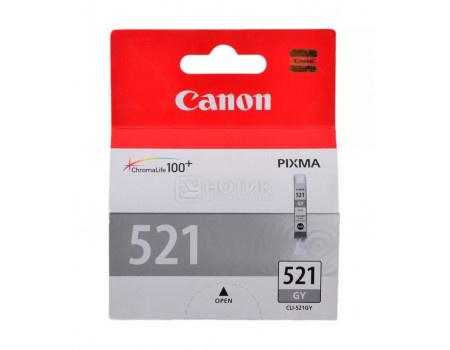 Картридж струйный Canon CLI-521 GY серый для Canon 2937B004