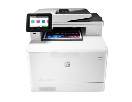 МФУ лазерное цветное HP Color LaserJet Pro M479fdw A4, ADF, Duplex 27/27 стр/мин Wi-Fi, USB 2.0, RJ-45, факс, Белый\Черный W1A80A фото