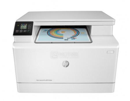 МФУ лазерное цветное HP Color LaserJet Pro MFP M182n A4, ADF, 16/16 стр/мин, USB 2.0, RJ-45, Белый 7KW54A