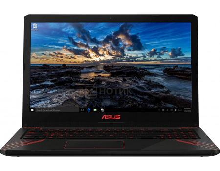 Ноутбук ASUS FX570UD-DM176T (15.60 TN (LED)/ Core i7 8550U 1800MHz/ 8192Mb/ HDD 1000Gb/ NVIDIA GeForce® GTX 1050 2048Mb) MS Windows 10 Home (64-bit) [90NB0IX1-M02510]