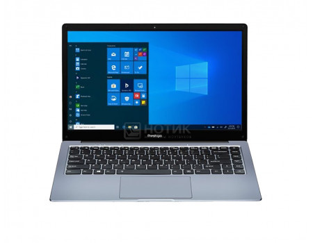 Ноутбук Prestigio SmartBook 141 C4 (14.10 IPS (LED)/ A4-Series A4-9120e 1500MHz/ 4096Mb/ SSD / AMD Radeon R3 series 64Mb) MS Windows 10 Professional (64-bit) [PSB141C04CGP_DG_CIS]