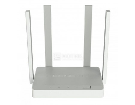 Маршрутизатор Keenetic Air 10/100/BASE-TX, 1xWAN, 4xLAN, WiFi 802.11ac до 300 Мбит/с / 867 Мбит/с (2,4 и 5 ГГц), Серый KN-1611 фото