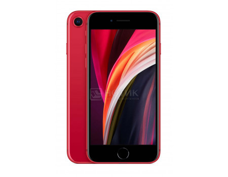"Смартфон Apple iPhone SE 2020 128Gb Red (iOS 13/A13 Bionic 2650MHz/4.70"" 1334x750/3072Mb/128Gb/4G LTE ) [MXD22RU/A]"
