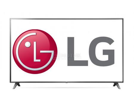 Телевизор LG 75 LED, UHD, IPS, Smart TV (webOS) Звук (20 Вт (2x10 Вт)), 3xHDMI, 2xUSB, 1xRJ-45, Серый, 75UM7020PLA