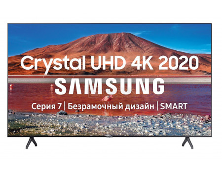 Телевизор Samsung 50 UHD, VA, Smart TV , Звук (20 Вт (2x10 Вт)), 2xHDMI, 1xUSB, 1xRJ-45, PQI 2000. Черный UE50TU7100UXRU фото