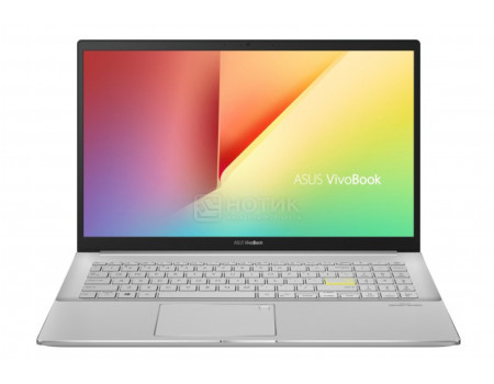 Ультрабук ASUS VivoBook S15 S533FL-BQ057T (15.60 IPS (LED)/ Core i7 10510U 1800MHz/ 8192Mb/ SSD / NVIDIA GeForce® MX250 2048Mb) MS Windows 10 Home (64-bit) [90NB0LX4-M00980]