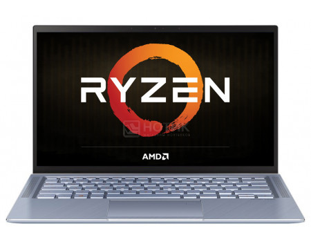 Ультрабук ASUS Zenbook 14 UM431DA-AM022T (14.00 IPS (LED)/ Ryzen 7 3700U 2300MHz/ 16384Mb/ SSD / AMD Radeon RX Vega 10 Graphics 64Mb) MS Windows 10 Home (64-bit) [90NB0PB3-M03540]