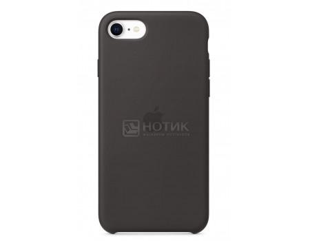 Картинка для Чехол-накладка Apple iPhone SE Silicone Case Black для iPhone SE 2020 MXYH2ZM/A, Силикон, Черный