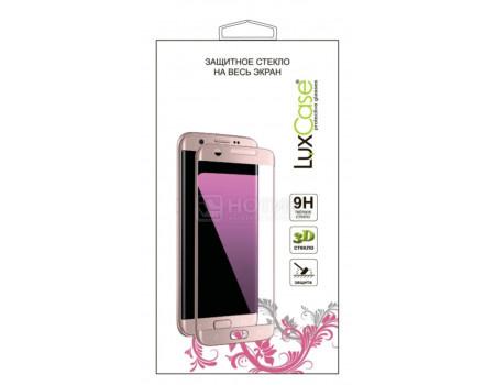 Защитное стекло LuxCase для смартфона Samsung Galaxy S10 Lite, 3D PMMA, черная рамка 84112 фото