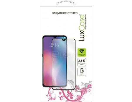 Защитное стекло LuxCase для Huawei P40, 2.5D Full Glue, Прозрачный, (Черная рамка) 78343 фото