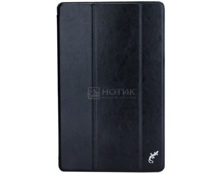 Чехол-книжка G-Case Slim Premium для Samsung Galaxy Tab A 10.5 SM-T590/SM-T595, Искусственная кожа, Черный, GG-982  - купить со скидкой
