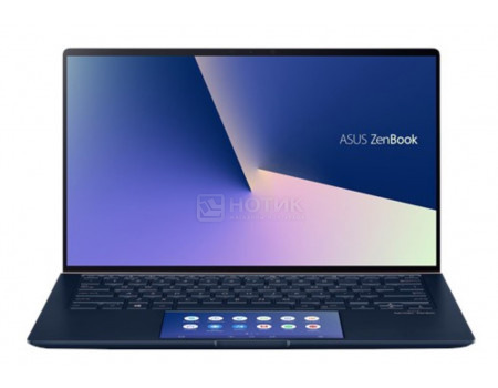 Ультрабук ASUS Zenbook UX334FLC-A4086T (13.30 IPS (LED)/ Core i7 10510U 1800MHz/ 8192Mb/ SSD / NVIDIA GeForce® MX250 2048Mb) MS Windows 10 Home (64-bit) [90NB0MW3-M05830] фото