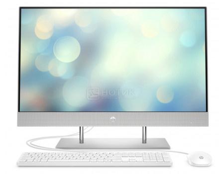 Моноблок HP 27-dp0024ur (27.00 IPS (LED)/ Pentium Dual Core G6400T 3400MHz/ 4096Mb/ SSD / Intel UHD Graphics 610 64Mb) Free DOS [14Q57EA]